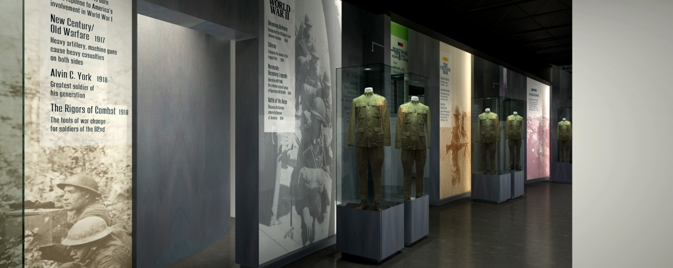 82nd Airborne Museum Exhibit