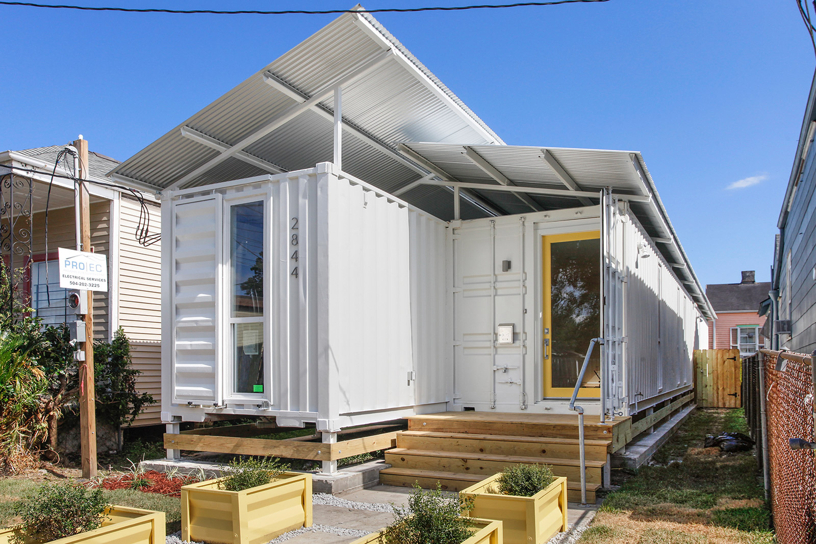 Shipping Container House On Dryades